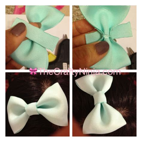 ribbon bow  crafty ninja