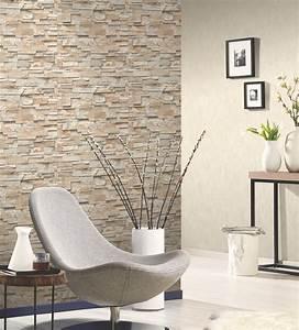 vliestapete stein 3d optik beige grau mauer ps 02363 10 With balkon teppich mit brillux tapeten my home design