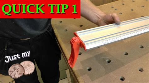 quick tip  table  jointing jig youtube