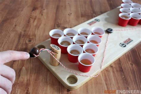 DIY Mini Beer Pong Game   Rogue Engineer