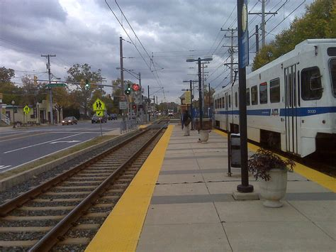 baltimore light rail ferndale station