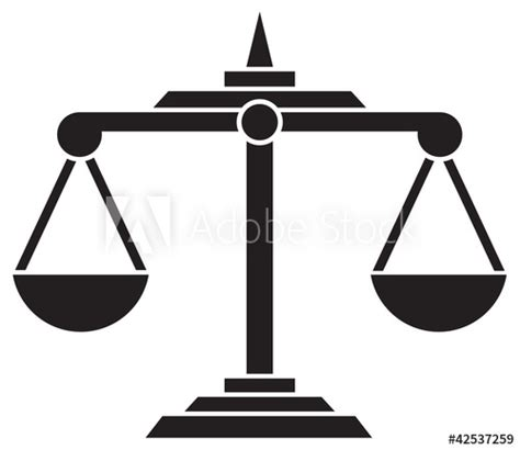 """foto de """"scales of justice symbol"""" Stock image and royalty free"""