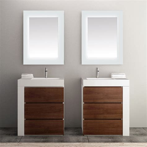 frosted edge led mirrors
