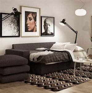 Canapé Lit Petit Espace : revisiter le petit espace 6 astuces pour maximiser le ~ Premium-room.com Idées de Décoration