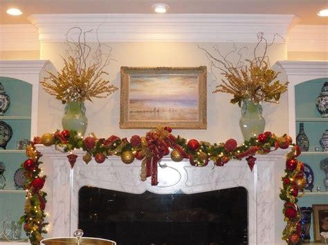Decorating Mantels Christmas Garland Wwwindiepediaorg