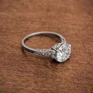 antique wedding and engagement rings With wedding band for antique engagement ring