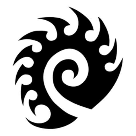starcraft zerg logo stencil  stencil gallery