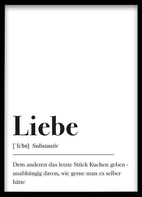din  poster typografie schwarz weiss plakat liebe schrift