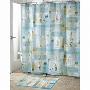 Curtains set modern shower curtains bathroom shower for Bathroom shower curtain and rug set