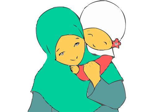 gambar kartun ibu dan anak gambar pedia gambar animasi