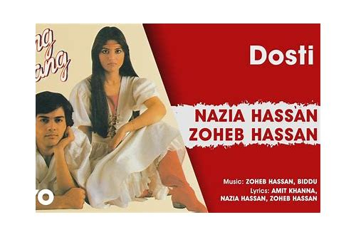 nazia hassan dosti song download