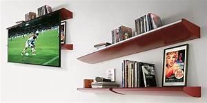 Hidden Screen In Shelf