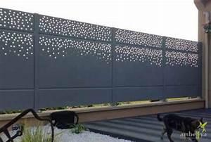 Panneau Brise Vue Aluminium : brise vue d coupe laser jardin pinterest ~ Melissatoandfro.com Idées de Décoration