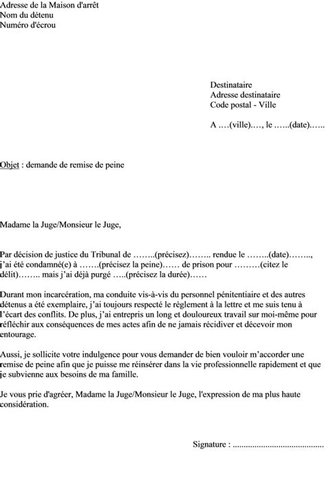 modele lettre juge application des peines contrat de - Modele De Lettre Pour Un Juge D Application Des Peines