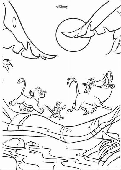 Lion King Pages Coloring Disney Activity Books