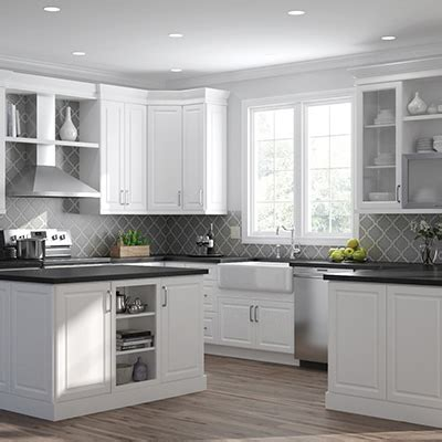 kitchen cabinets color gallery   home depot