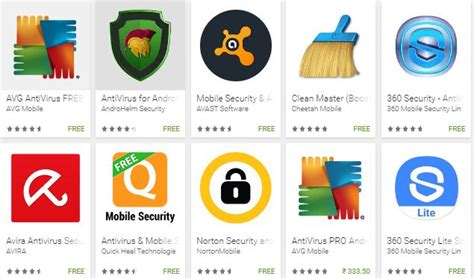top 5 best free antivirus for android mobile antivirus