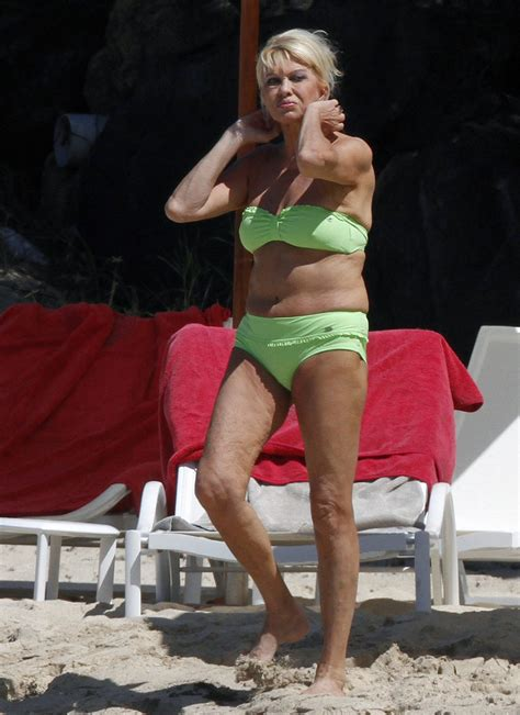 trump ivana bikini age shows beach zimbio nml