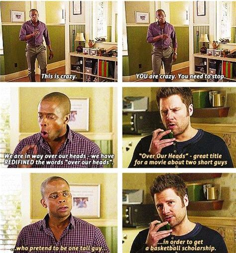 Psych Memes - shawn and gus quotes shawn spencer burton guster gus psych movie quotes pinterest