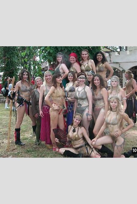 Renaissance Faire Topless