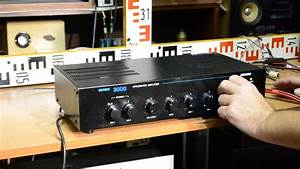 Paso Ax3030  Amplifier 12  220v  8 Ohm  50  70  100 V Mixer Mixing Amp Verst U00e4rker Wzmacniacz