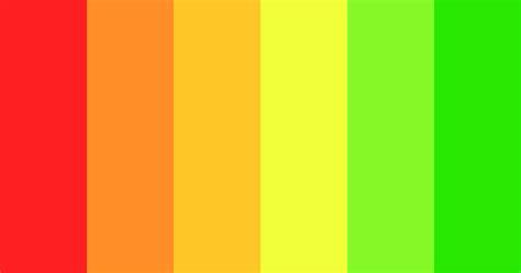 Bright Gradient Color Scheme » Bright » SchemeColor.com