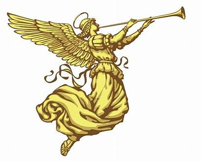 Trumpet Angel Christmas Angels Biblical Tattoo Horns