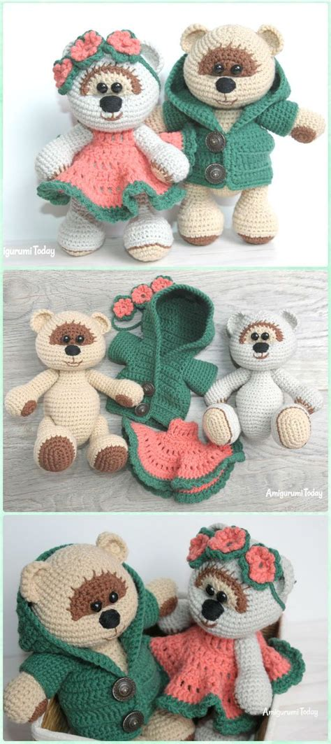 teddy patterns amigurumi crochet teddy bear toys free patterns teddy bear toys crochet teddy and bear toy