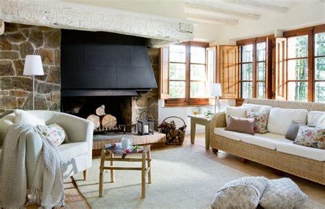 A modern Mediterranean house interior offers rustic charm