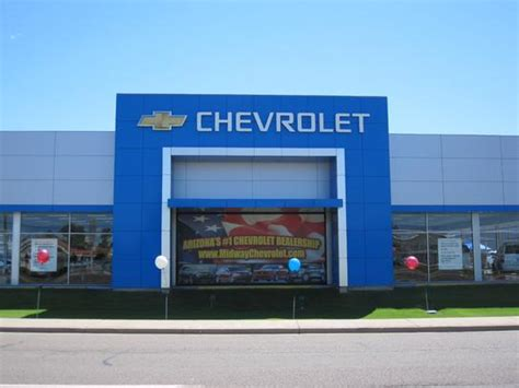 Midway Chevrolet Car Dealership In Phoenix, Az 85023
