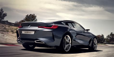 Bmw's Newly Revealed Concept 8 Series Is A Modernday Coupe