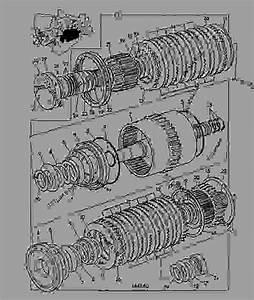 Clutch  Reverse  Powershift Transmission 460  31000