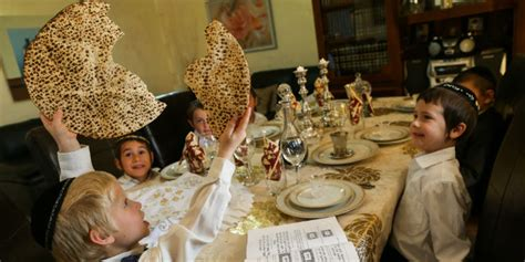 the passover seder how is this different from all
