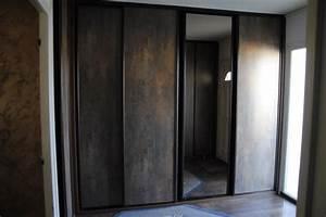 grand placard d39entree portes coulissantes a lagny With porte d entrée coulissante