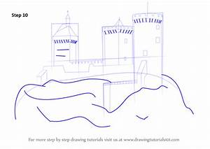 Learn How to Draw a Medieval Castle (Castles) Step by Step ...