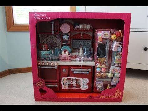 our generation kitchen set re ment miniature modern comfort doll kitchen doovi