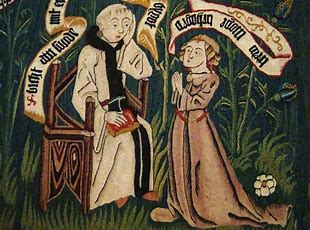 Image result for images catholic confessional medieval