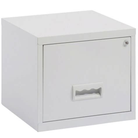single drawer file cabinet a4 filing cabinet 1 drawer grey staples