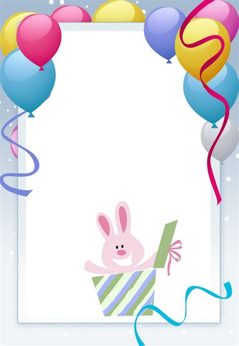 free happy birthday template 83 best images about birthday invitation templates on