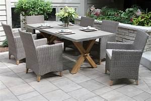 Teak, U0026, Driftwood, Grey, Wicker, Dining, Chair, With, Sunbrella, Fabrics, 2pk