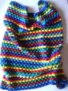 Striped Baby Blanket Crochet Pattern