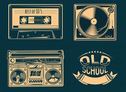 Cassette Tape Retro Audio Box Boom Clip