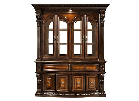 china cabinet with lights bradford heights 2 pc china cabinet w lighting
