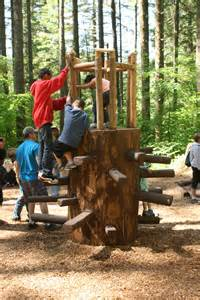 Nature Play Area Silver Falls