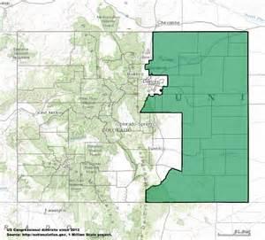 Colorado Congressional District Map