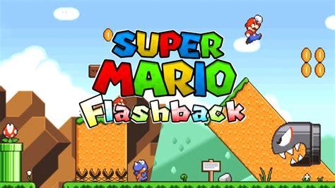 super mario flashback trailer hd otro mario fan game