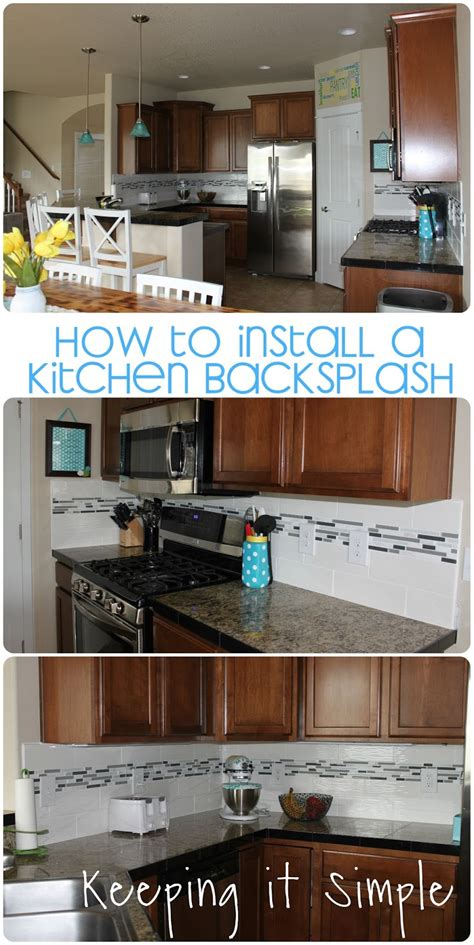 how to apply backsplash in kitchen how to install a kitchen backsplash with wavecrest and 8496