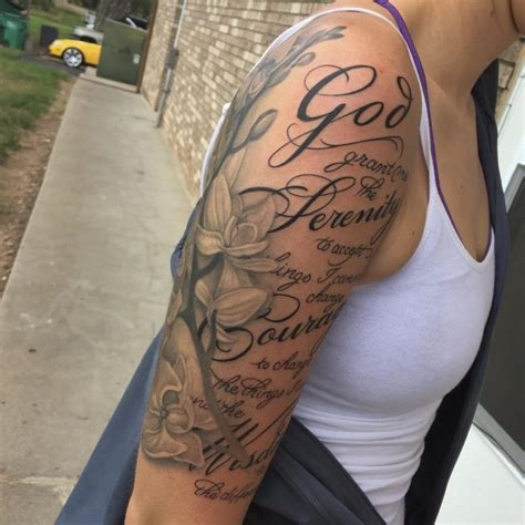 14+ [ Serenity Prayer Tattoo ]  Angel Wordart On