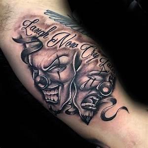 Drama Masks Tattoo | www.imgkid.com - The Image Kid Has It!