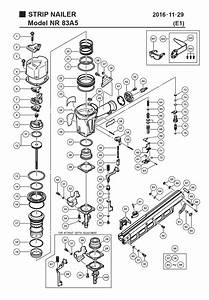 Hitachi Nr83a5 Parts List